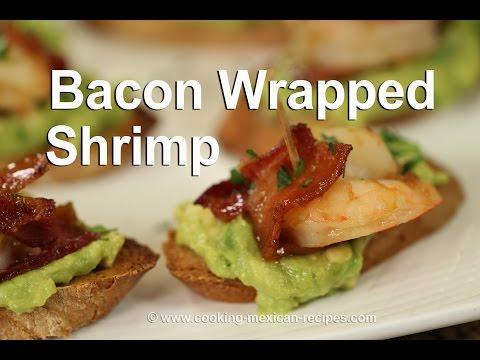 How To Make Bacon Wrapped Shrimp With Avocado | Rockin Robin