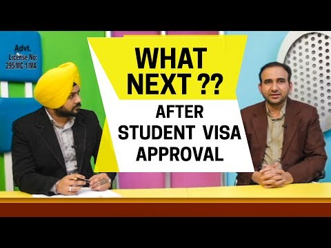 What Next?? After student visa Approval