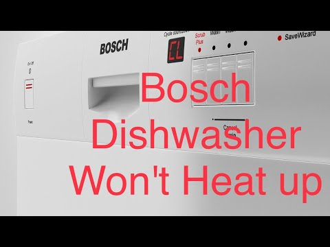 Bosch Dishwasher Water Fill Valve (FIXED)