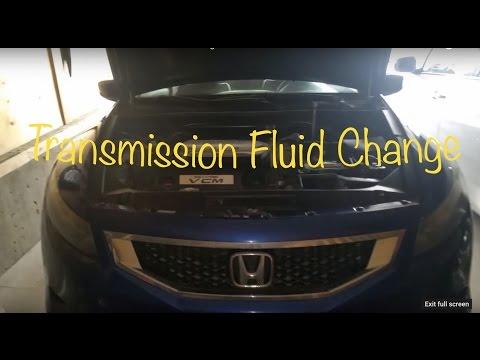 2008+ Honda accord auto transmission fluid change