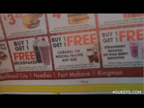 McDONALDS FRAPPE ~ BUY ONE GET ONE FREE COUPON, ADSPAY