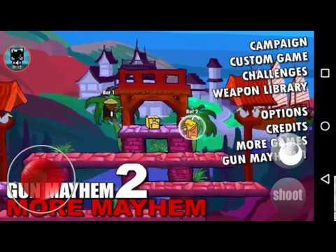 Gun Mayhem 2//Android//Gameplay/