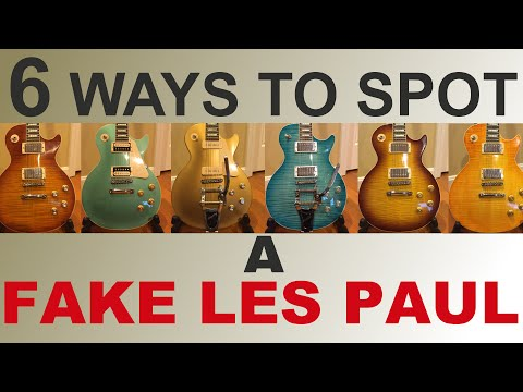 6 Easy Ways to Spot a Fake Chinese Les Paul - Chibson Repellant!