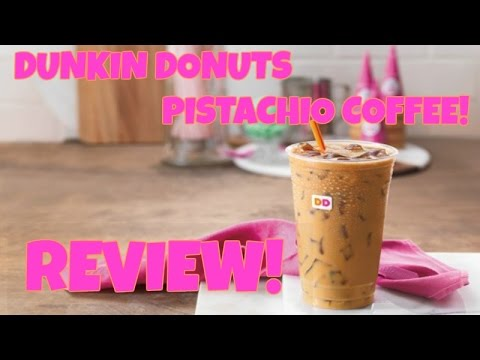 We Review Pistachio Flavored Coffee from Dunkin Donuts! - Trylons