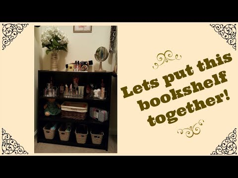 MAINSTAYS 3 SHELF BOOKCASE ASSEMBLY | WALMART