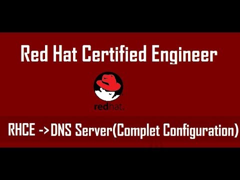 How to configure DNS Name Server in Centos7 , Redhat7 (Server and Client Configuration)