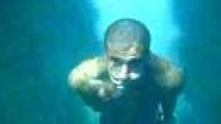 Plongeon Cassis saut de l'ange (vue dans l'eau)