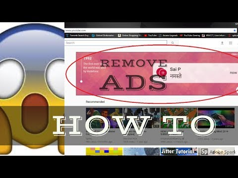 HOW TO BLOCK ADS ON YOUTUBE ...(EASIEST WAY)