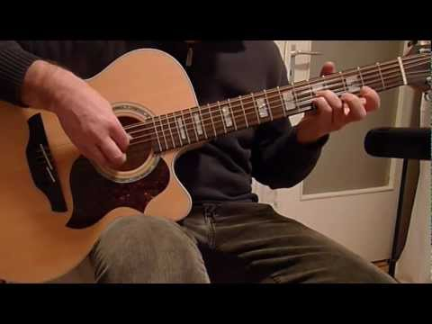 12 String Guitar Fingerstyle Solo  - Takamine EG523SC-12