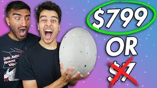 Guess The Price.... OR EAT IT! 💵🍖💵🥚GIANT EGG FOREIGN FOOD CHALLENGE!