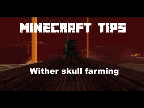 Minecraft Tips: How to farm Wither Skeleton Skulls easy