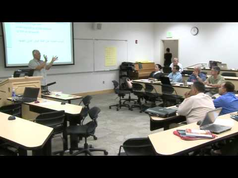 Day 1 - Curriculum Design - 2012 NMELRC STARTALK Arabic Teacher Training Workshop