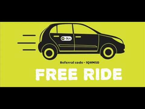 Ola Cabs App Offer Rs.300 Free Ride