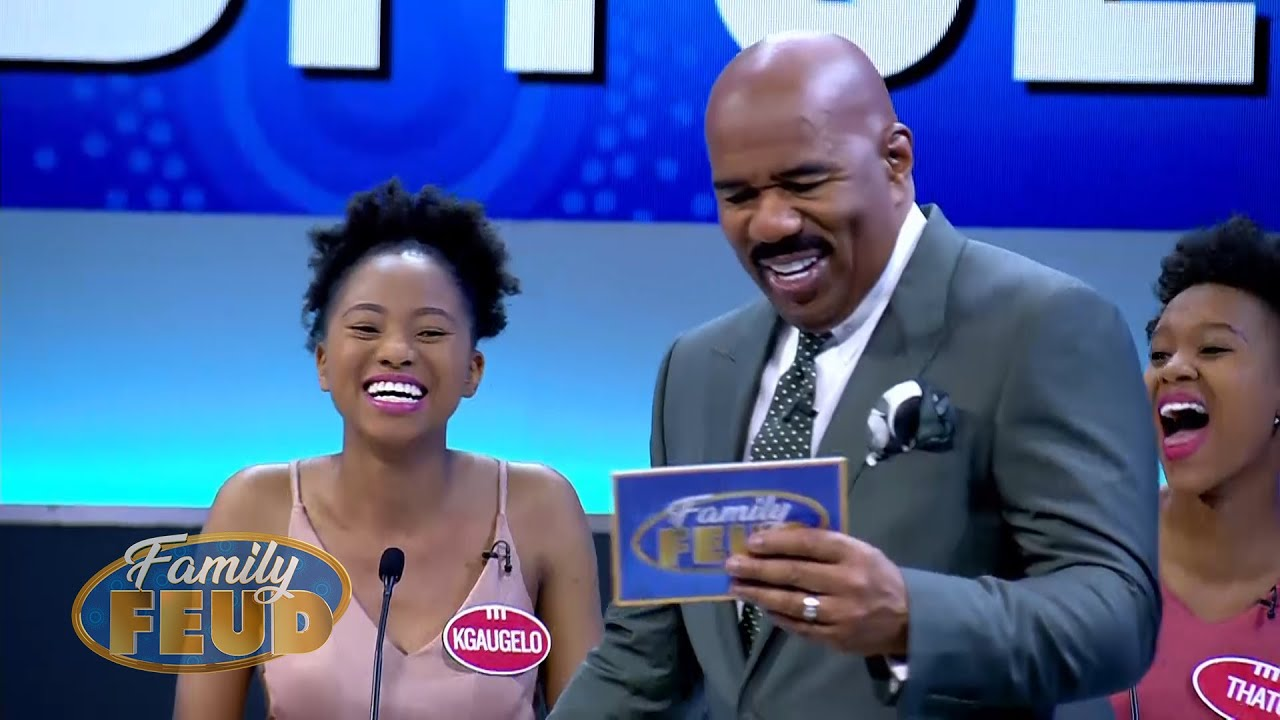 Is a runaway Bride is the top answer?!   Family Feud South Africa