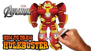 How to Draw Hulkbuster | The Avengers