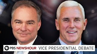 Watch The 2016 Vice Presidential Debate Between Mike Pence And Tim Ka