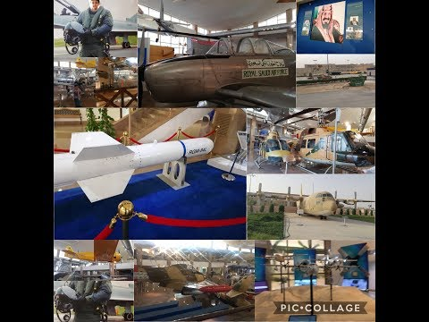 Visited to Royal Saudi Air Force Museum in Riyadh/A Day in my life