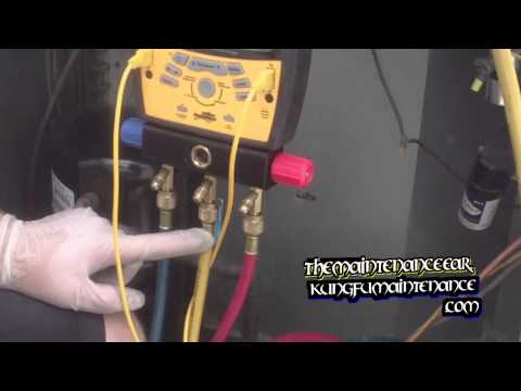 Charging Air Conditioners Important To Purge All Three Hoses Before Adding Refrigerant Charge