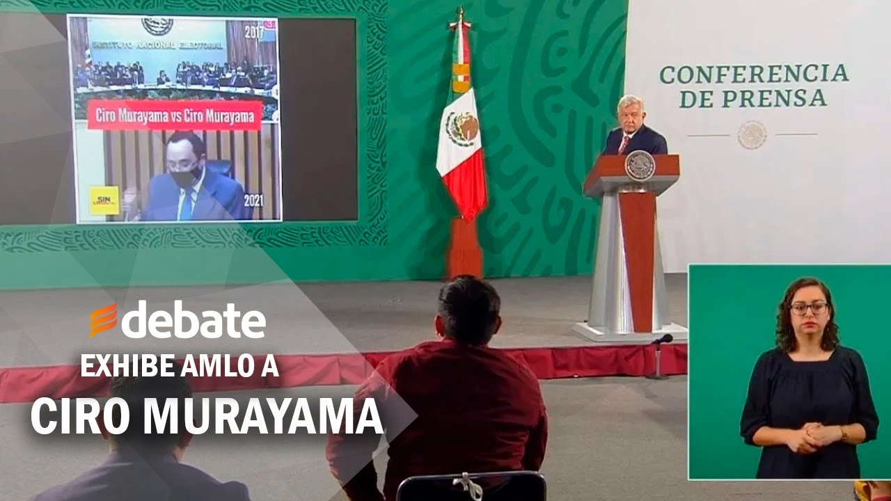 Exhibe AMLO a Ciro Murayama por contradicción en fraude electoral por entrega de tarjetas