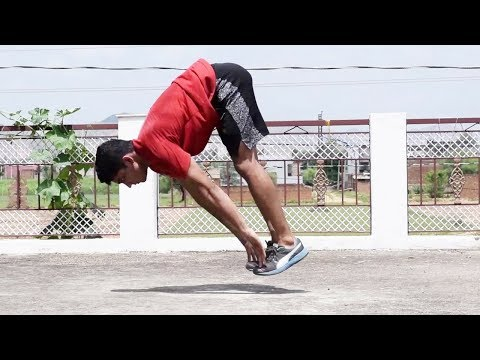 Aztec Pushups Tutorial - Toe Touch Pushup Tutorial in Hindi