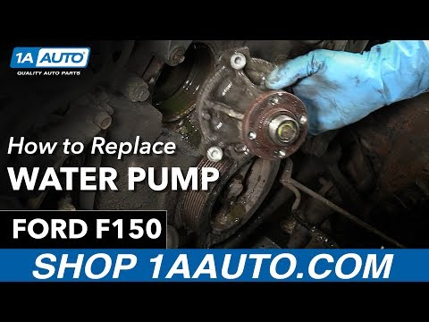 How to Replace Install Water Pump 1998 Ford F150 Buy Quality Parts at 1AAuto.com
