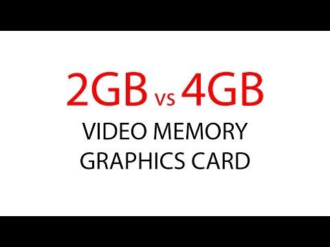 2GB vs 4GB Video Memory Graphics Card Comparison with Nvidia GTX 960