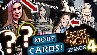 Escape The Night Season 4 Dream Cast