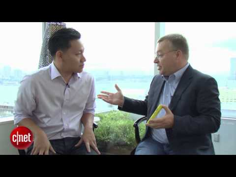 Nokia CEO Elop on 'world's most innovative phone'