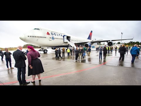 Delta Airlines sends off its Boeing 747s with grand farewell tour : Jetline Marvel