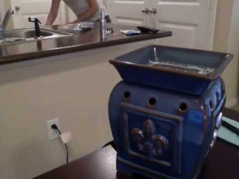 How to remove wax from your Scentsy warmer!