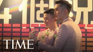 First Couples Say 'I Do' In Taiwan After Same-Sex Is Marriage Legalized | TIME