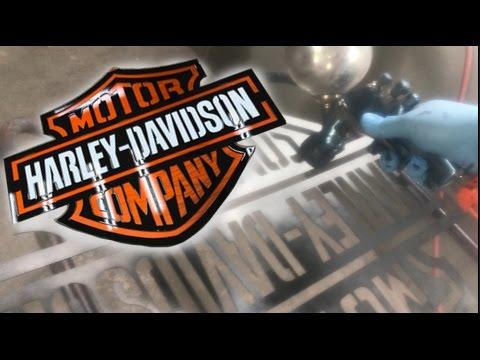 Badass Harley Davidson Sign - Candy Paint - Mancave - Bar - Garage - Shop - Den - Game Room