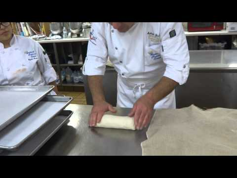 How to shape a dough for Italian/French bread