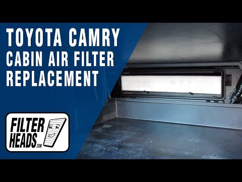 How to Replace Cabin Air Filter 2015 Toyota Camry