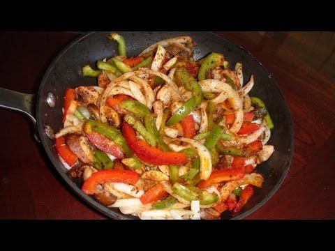Vegetable Fajitas Recipe video - Mexican Cuisine Recipes by Bhavna