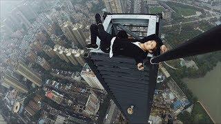 Chinese Daredevil Dies During Skyscraper Stunt | What's Trending Now!