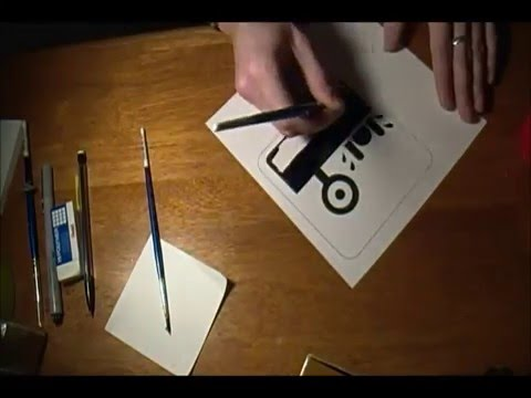Designing a Pictogram Time Lapse