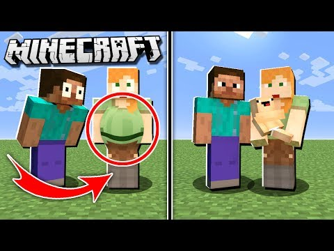 IF you could GET PREGNANT in Minecraft!