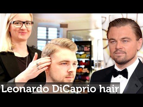 Leonardo DiCaprio & Ryan Gosling Hair Inspiration | Men's Hairstyling By Slikhaar Studio