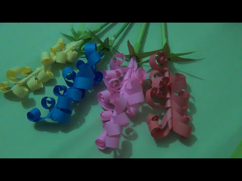How to make beautiful paper tulip flowers | Easy origami flowers | Great Paper Art