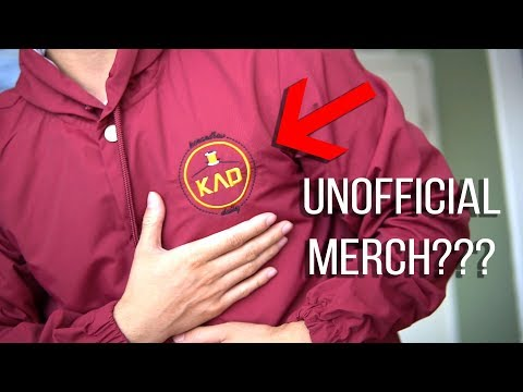 UNOFFICIAL MERCH??? Tailoring Thrifted pants and going back to school?? | KenAndrewDaily 02
