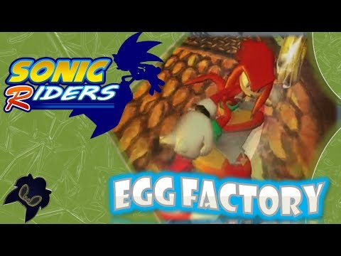 Sonic Riders (GC) - Egg Factory - Knuckles [Widescreen]