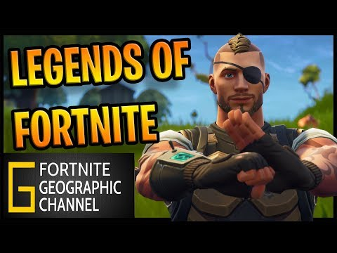 Fortnite Geographic | The LEGENDS of Fortnite | Replay mode movie