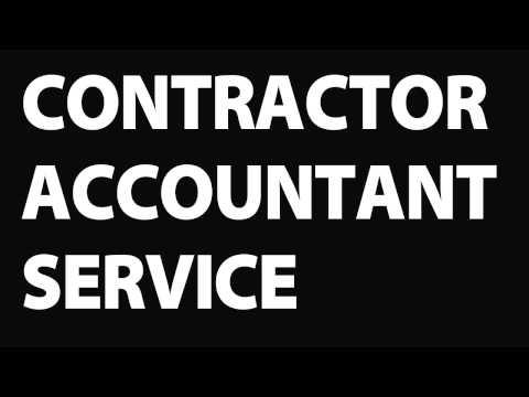 Contractor accountant  Contractor accountant services