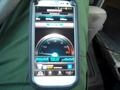 Sprint Samsung Galaxy S3 w/ (stock) JellyBean & LTE Speedtests
