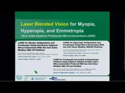 Laser Blended Vision Presentation - Dan Reinstein
