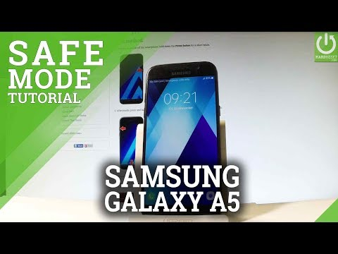 Safe Mode in SAMSUNG Galaxy A5 (2017) - Enter / Quit Safe Mode