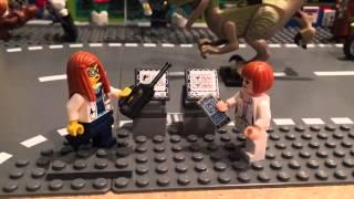 Last Train To Stackville: Dino Agents Ambush Attack!