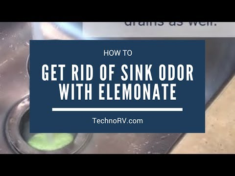 How to Eliminate Odors Coming From Your Grey Tank