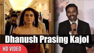 Dhanush Sweet Words To Kajol Vasundhara | Velaiilla Pattadhari 2 Trailer & Audio Launch | VIP 2